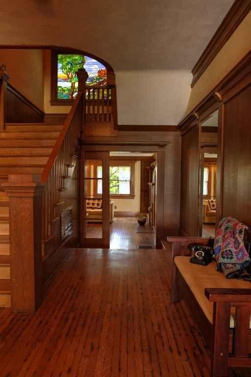 1138 best arts crafts home interior images on pinterest - Arts and crafts bungalow interiors ...