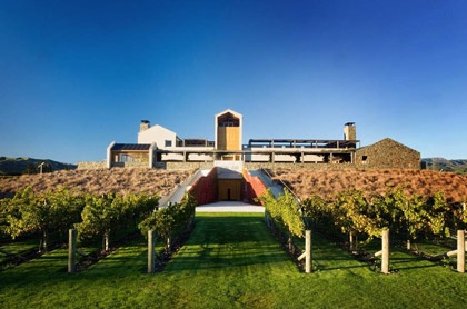 Wither Hills - the winery and cellar door. Marlborough, NZ