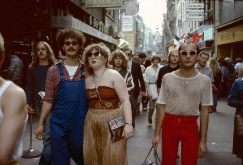 Ed van der Elsken   Kalverstraat, Amsterdam (ca. 1972)