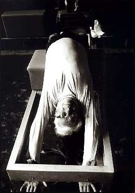 Joesph Pilates in 1961 #pilates