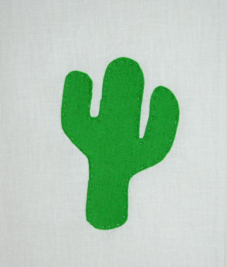 Bow & Arrow Wool Felt on Linen www.ilovebowandarrow.com.au #cactus #mexico #neon #colour #kidsroom