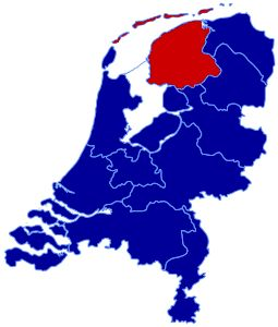 My place: Friesland... here it is.. The Netherlands