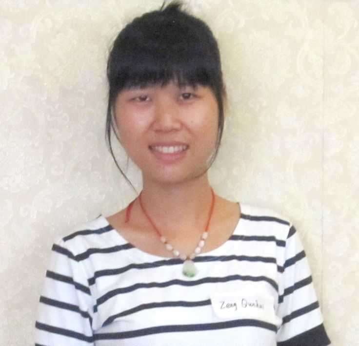 Zeng Qunhui lacks $100 since one of her sponsors cannot give a repeat donation.