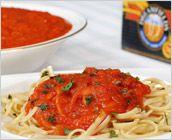 Dreamfields Pasta's Basic Tomato Sauce With Linguine