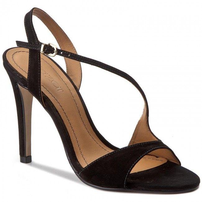 Sandały KAZAR - Megan 28422-03-00 Czarny