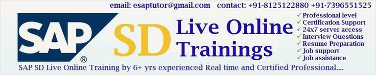 Demo by Real time Certified Professionals at your comfortable time... conducting : 4-jan-2014 evening. Learn from anywhere at your pace. Duration: 45 to 60 days. For More information visit : www.sapsdolt.blogspot.com Enroll your name at : ashoksite143@gmail.com Contact – 9885669191