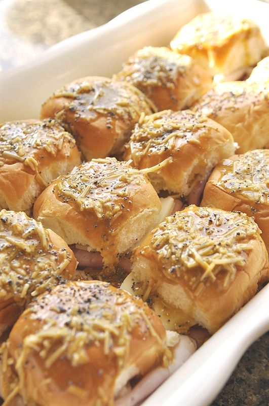 Hawaiian Ham and Cheese Sandwiches - your homebased mom