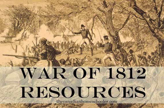 War of 1812 resources