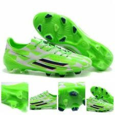 Popular Green,White and Black soccer Boots.