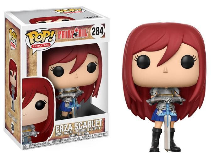 POP! Animation #284: Fairy Tail: ERZA SCARLET