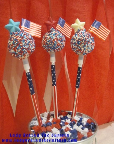 Images Of Blue Cake Pops