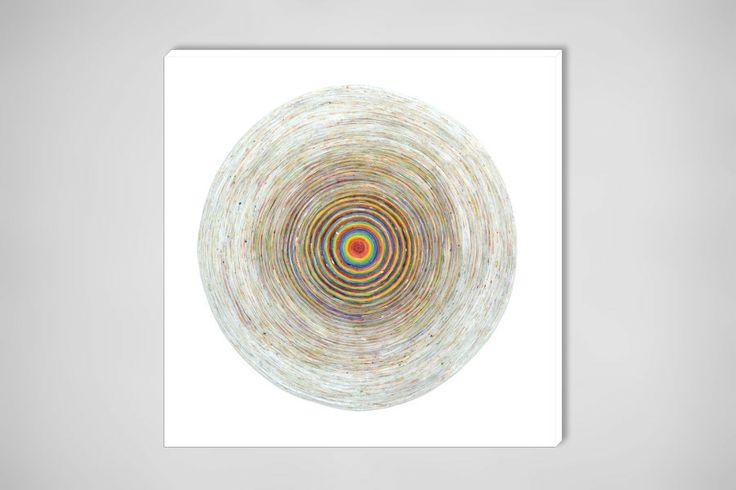"Saatchi Art Artist: Jonathan Gabb; Acrylic 2011 Painting ""Track 7 & White"""