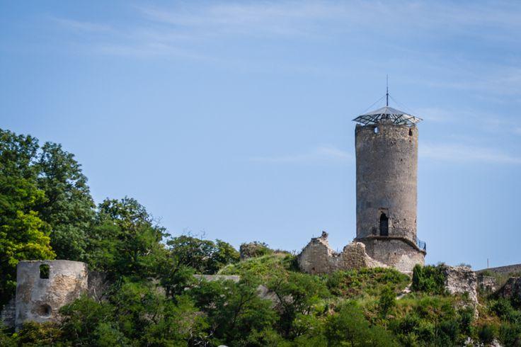 Castle tower in Ilza, Poland