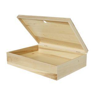X A3 Storage Box Light Oak