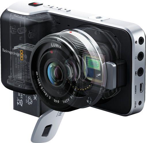 The Blackmagic Pocket Cinema Camera starts shipping on July 25, 2013. $1000