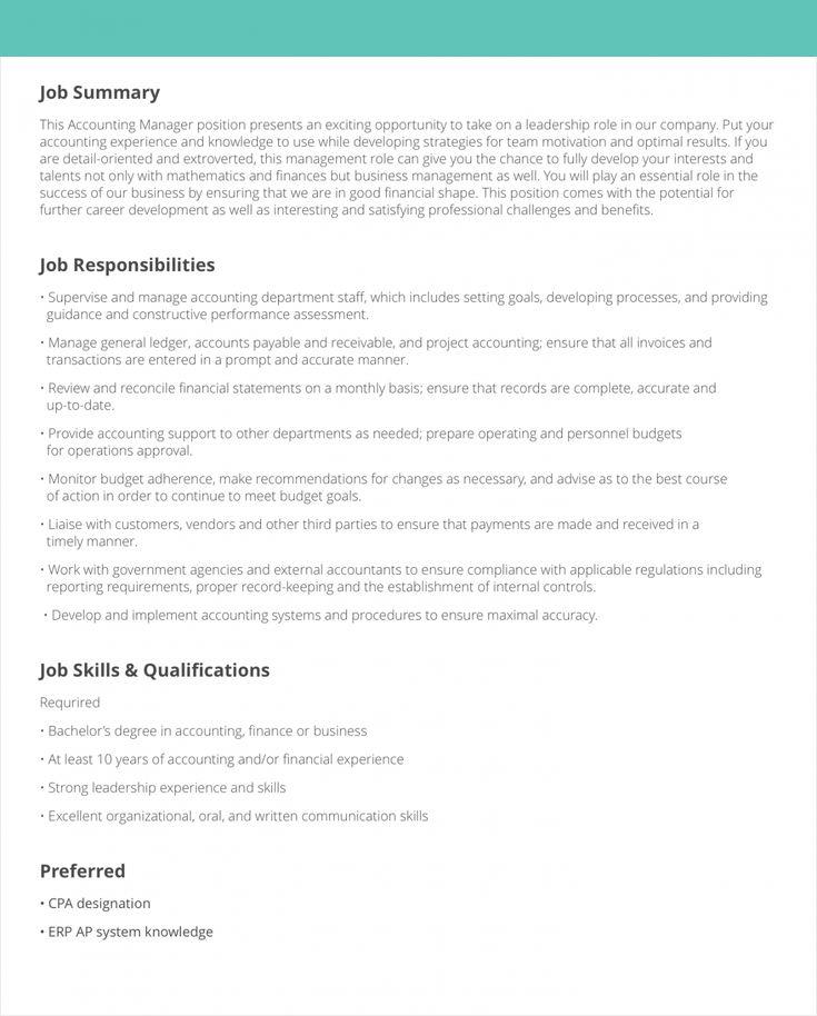 Browse our image of logistics manager job description