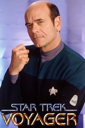 Star Trek Voyager - The Doctor (Robert Picardo).a great character, trying to be human.