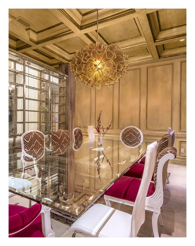 Corbett Lighting Pulse Chandelier Made Of Gold Leaf And Hand Crafted Iron  And Iron Mesh. Stunning Over The Dining Table But Perfect For Any Room In  Your ...