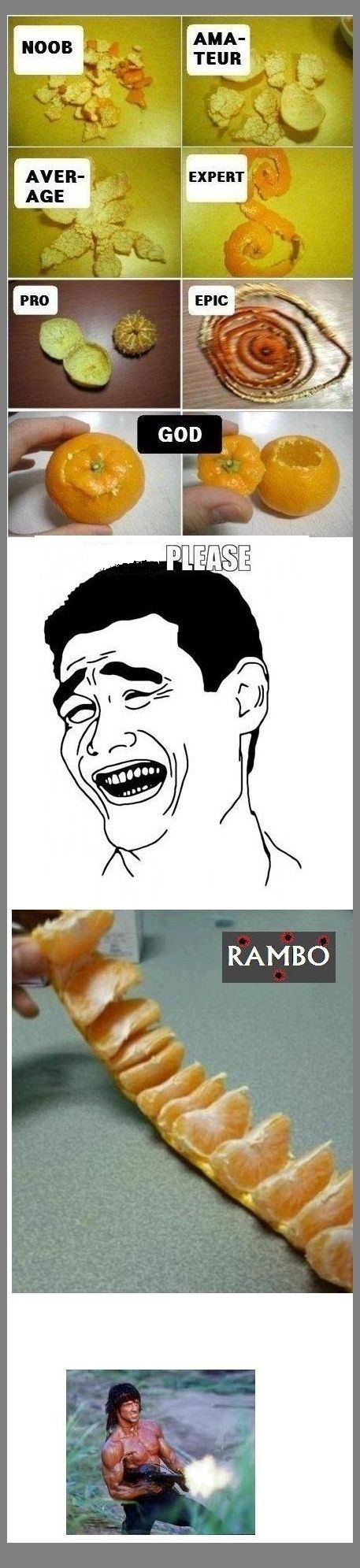 Want to be Rambo..? - Posted in Funny, Troll comics and LOL Images - Entertain Club