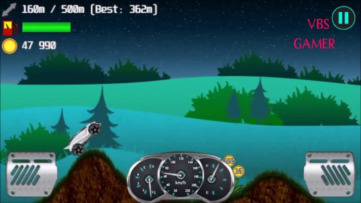 Alien Planet Hill Racing Babies Android Gameplay Night Bike 3