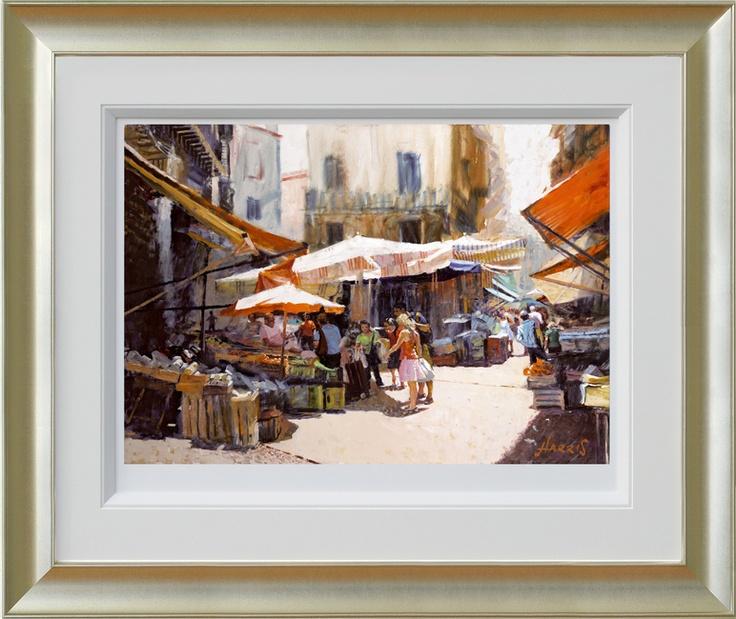 Palermo Market by Rolf Harris