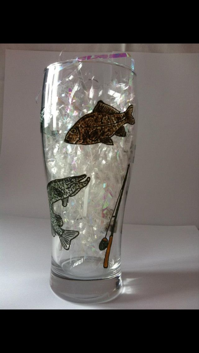 Hand painted beer glass | Everything Beer | Pinterest ...