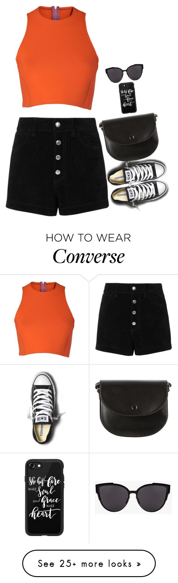 """Untitled #6773"" by miki006 on Polyvore featuring rag & bone/JEAN, Converse, Sydney-Davies and Casetify"
