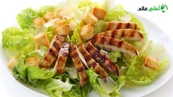 سلطة سيزر Food Eat Salad