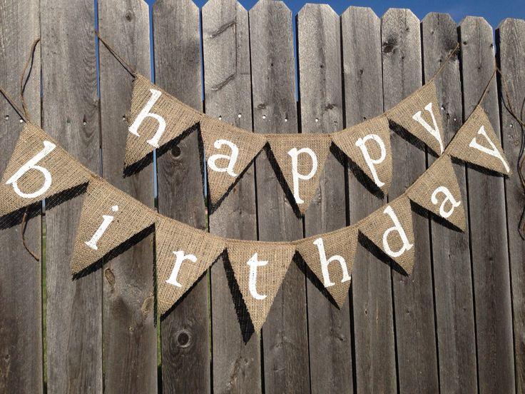 Mini White Letter Happy Birthday Banner by TwoChikkadees on Etsy https://www.etsy.com/listing/157681116/mini-white-letter-happy-birthday-banner