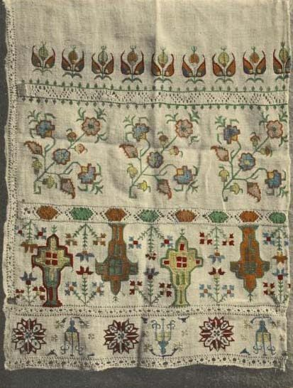 12-13th century embroidery