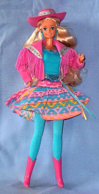 Barbie Western Fun 1989.  I had this barbie as a kid!