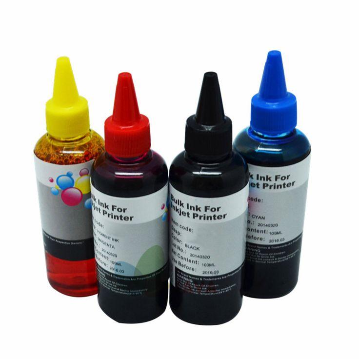 400ML Universal Refill Ink kit for Epson Canon HP Brother Lexmark DELL Kodak Inkjet Printer CISS Cartridge Printer Ink