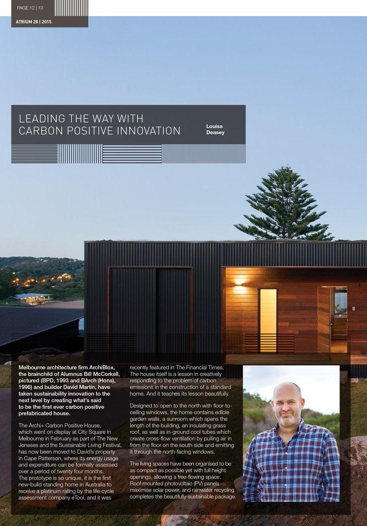 Atrium | The University of Melbourne | Construction Innovation | ArchiBlox