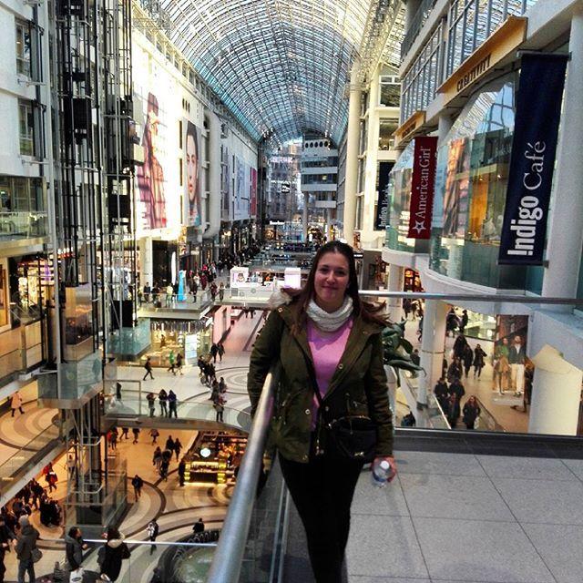 Shopping day 🛍👑 #shopping #shoppingcenter #eaton #toronto #ontario #canada #goodday #friends #happy #goodmoment #saturday #trip #travel #travelgram #holidays #instatravel #instaplace #me #photography #photo by annasoler_. travel #toronto #holidays #trip #shoppingcenter #shopping #instaplace #goodday #eaton #canada #friends #saturday #ontario #photo #me #travelgram #happy #goodmoment #instatravel #photography