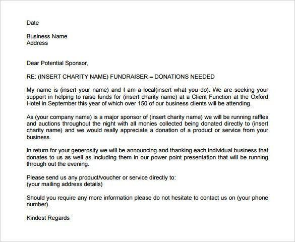 sample sponsorship letter Proposal Request Letter. Proposal Sample Of Sponsorship Letter ... #sampleResume #FreeResume