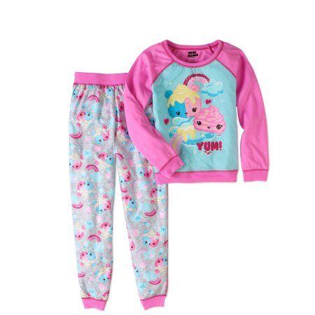 Num Noms Girls' Scented 2pc Pajama Set, Size: 10/12, Pink