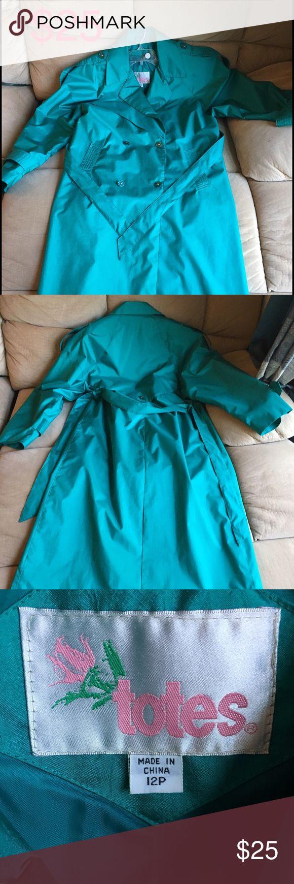 Ladies Raincoat Ladies Raincoat Totes Jackets & Coats Trench Coats