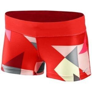 Nike Filament Print Boy Short - Women's - Running - Clothing - Siren Red/Team Red/Matte Silver