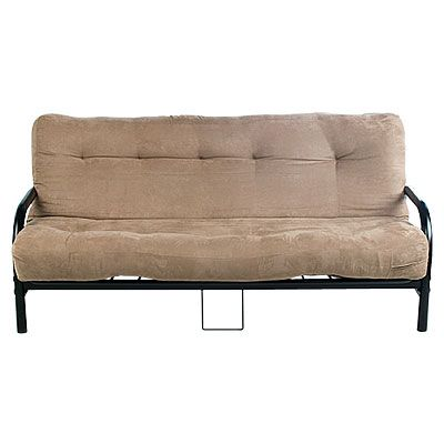 Black Futon Frame With Camel Mattress At Lots Our Home Hunting Pinterest And