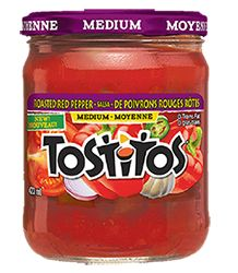 Tostitos® Roasted Red Pepper Salsa #InspireTheSeason