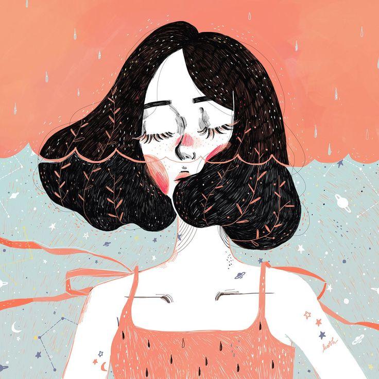Illustration by Kathrin Honesta