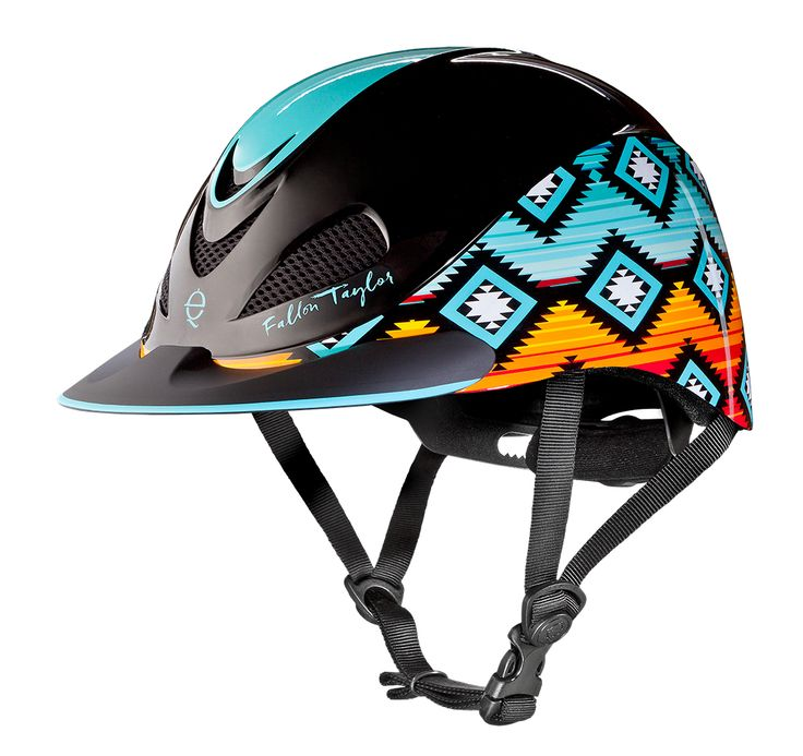 Sunset Serape, Fallon Taylor by Troxel Helmet Collection. WHEN DID THIS HAPPEN? I LOVE IT