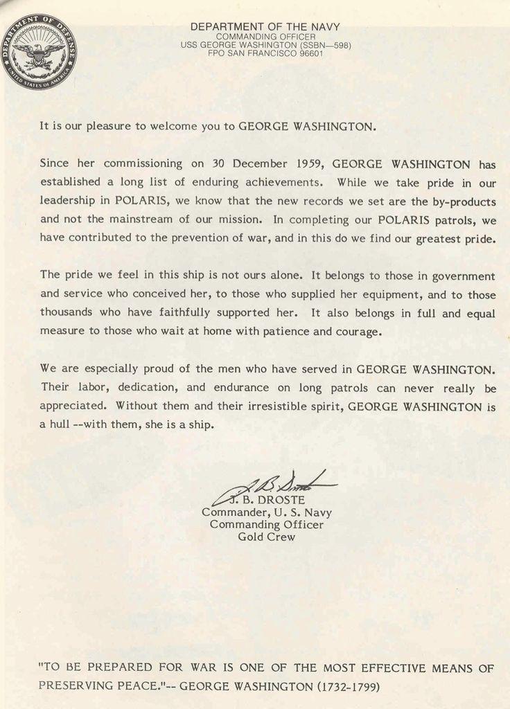 George Washington Resume - Resume Ideas