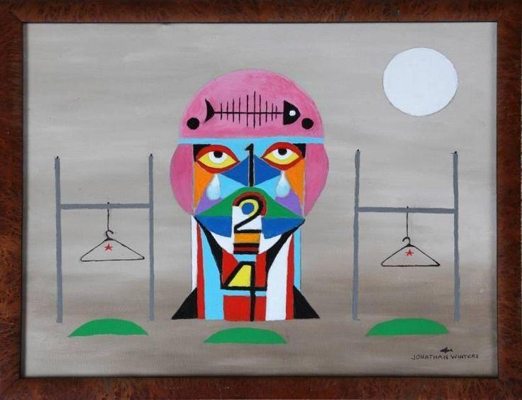 Jonathan Winters Original Painting Price Estimate 200