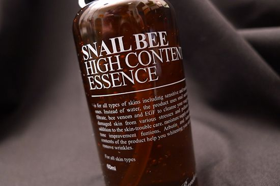 If you're only going to try one product from the Benton skincare line, it should be the Snail Bee High Content Essence!