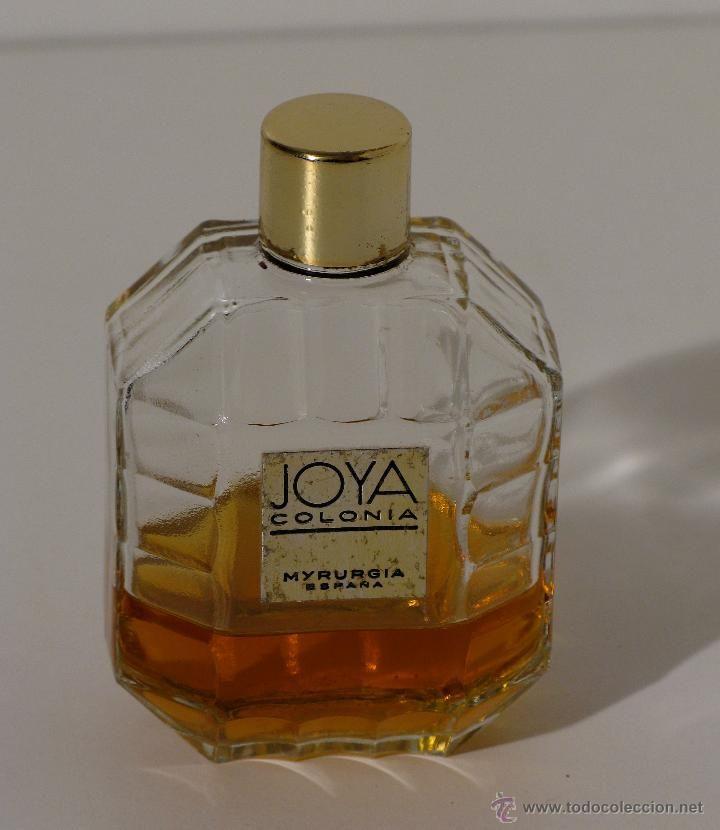 Frasco de perfume JOYA de MYRURGIA de los años 60.