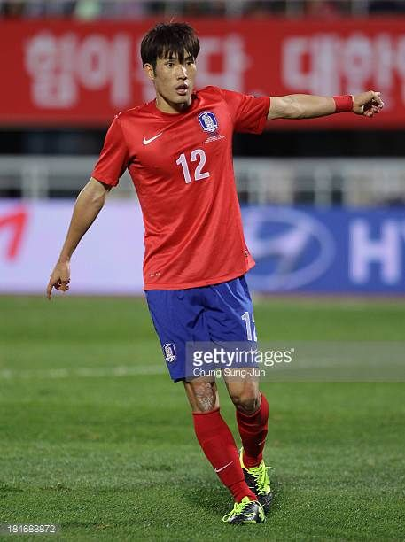 Han KookYoung of South Korea in action during the international friendly match between South Korea and Mali at Cheonan Baekseok Stadium on October 15...