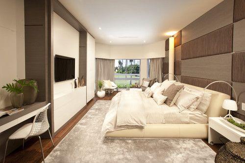 A Modern Miami Home - modern - bedroom - miami - by DKOR Interiors Inc.- Interior Designers Miami, FL