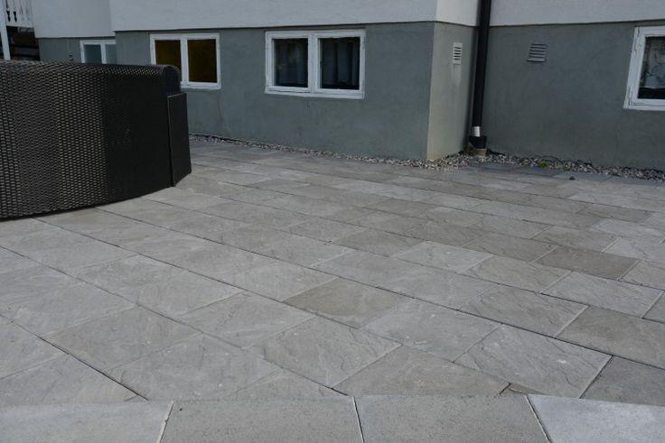 Platta Betong Rosendal 350x350x50 - Stenbolaget