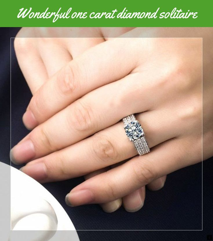 Learn More About One Carat Diamond Solitaire Please Click Here To Find Out More Our Web Images Are A Mu One Carat Diamond Rings Cool Diamond Solitaire
